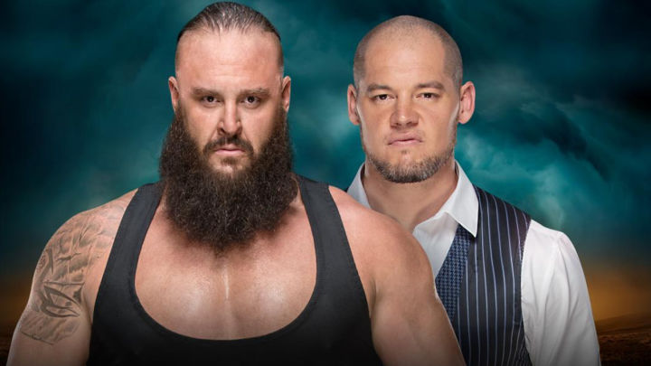 what are wwe chairs made of swing chair wooden tables ladders and 2018 match results reaction ign baron corbin
