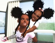 black women sims 4