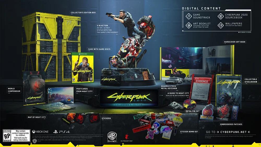 All The Collector S Editions Announced So Far Cyberpunk