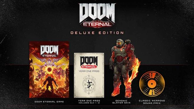 doom-eternal-deluxe-edition1 Preorder Doom Eternal for $49.94 on PS4, Xbox One, and PC | IGN