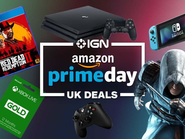 Amazon Prime Day 2019: Best Deals on Nintendo Switch, PS4