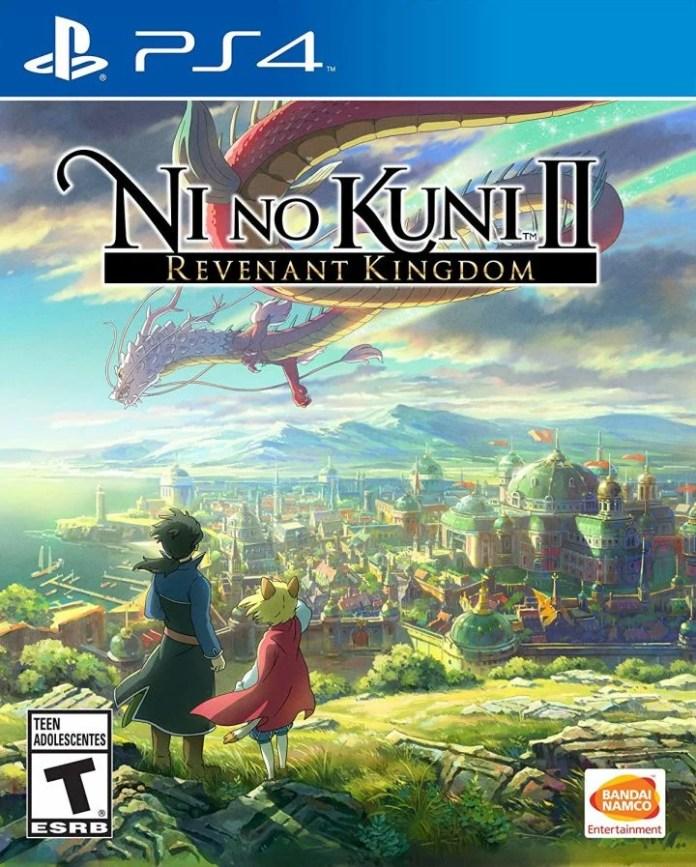 PS4 cover art for Ni No Kuni 2: Revenant Kingdom.