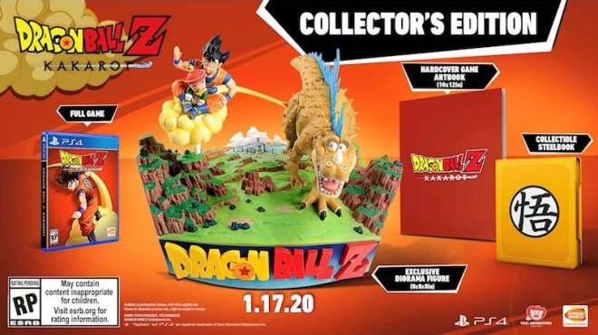 dragon-ball-z-kakarot-collectors-edition Check Out This Crazy DBZ Statue in the Kakarot Collector's Edition | IGN