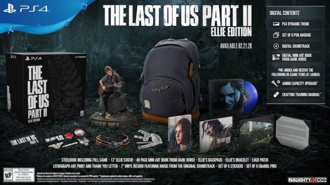 last-of-us-part-2-ellie-edition The Last of Us Part 2 Ellie Edition Will Restock February 13 | IGN