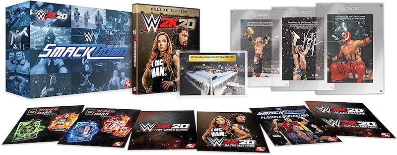 Complete Wwe 2k20 Preorder Guide For Ps4 Xbox One And Pc