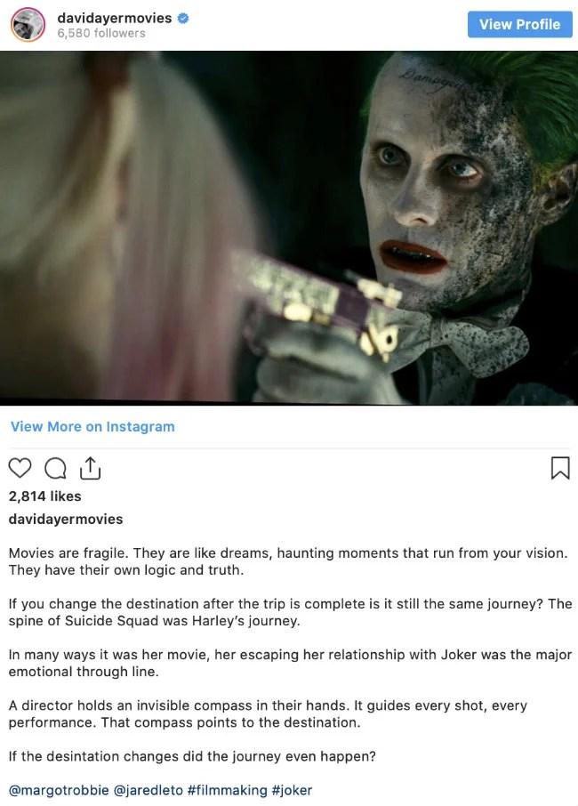Jared Leto Joker Damaged : jared, joker, damaged, Suicide, Squad:, Check, Image, Jared, Leto's, Joker, Deleted, Scene