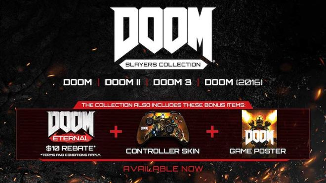 doom-slayers-collection-2 Preorder Doom Eternal for $49.94 on PS4, Xbox One, and PC | IGN