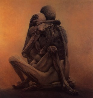 Untitled_painting_by_Zdzislaw_Beksinski_1984 9 Facts, 1 Lie: DOOM | IGN