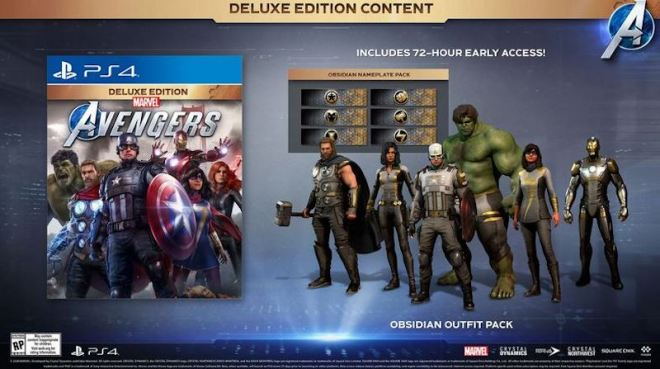 avengers-deluxe-edition1 Two New Editions Announced for Marvel's Avengers | IGN