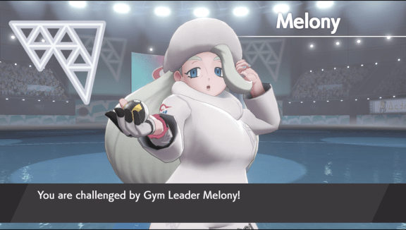 Melony_shield_exclusive Pokemon Sword and Shield Version Differences | IGN