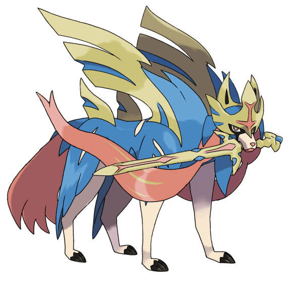 Zacian Pokemon Sword and Shield Version Differences | IGN