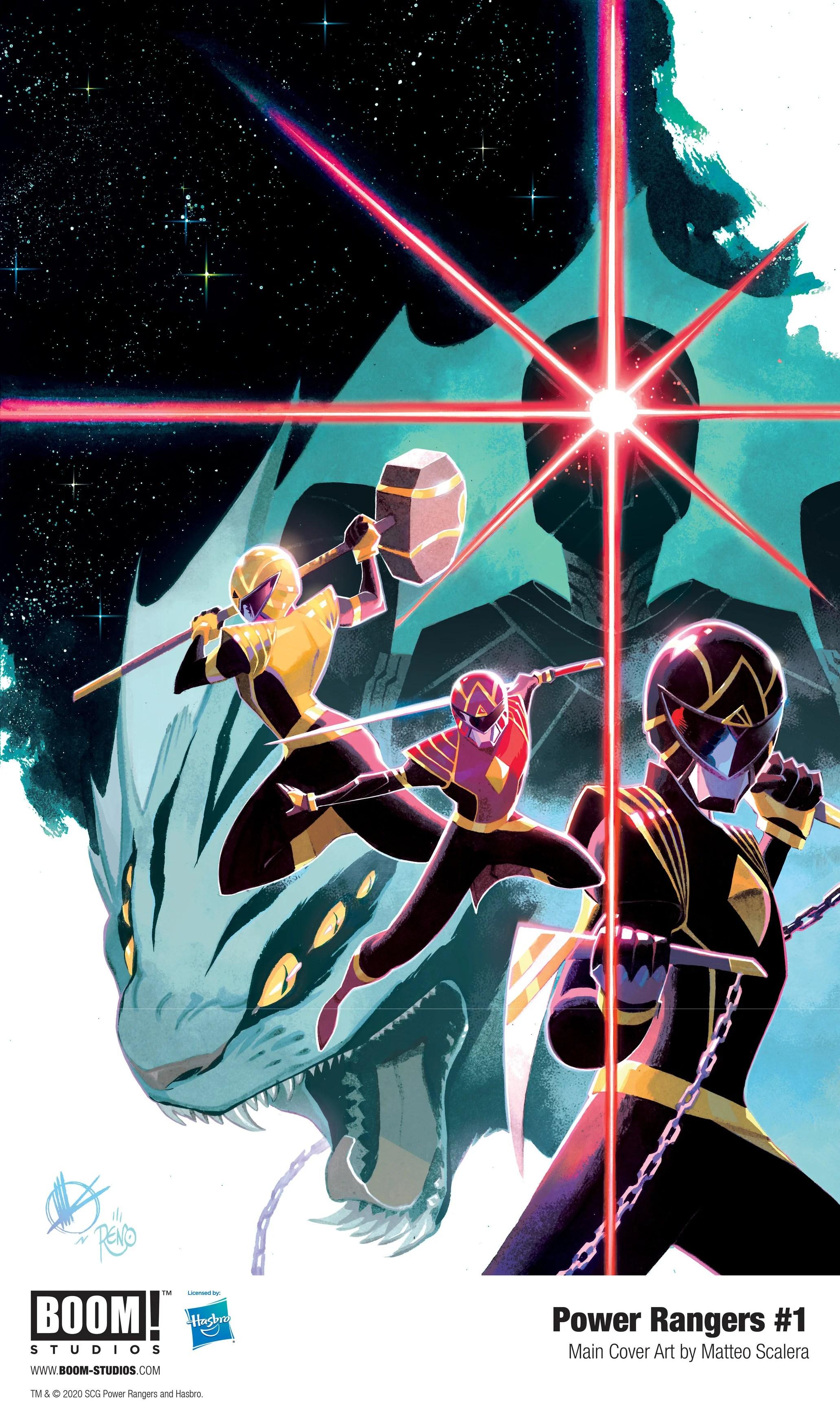 New Power Rangers : power, rangers, Mighty, Morphin:, BOOM!, Studios', Power, Rangers, Relaunch, Introduces, Green, Ranger