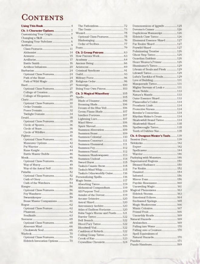 Tashas-Cauldron-of-Everything_ToC_WM-720x949 D&D: Get an Inside Look at Tasha's Cauldron of Everything | IGN