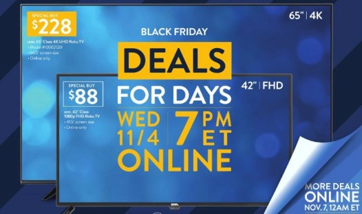 Black Friday: What to Expect from Walmart 2