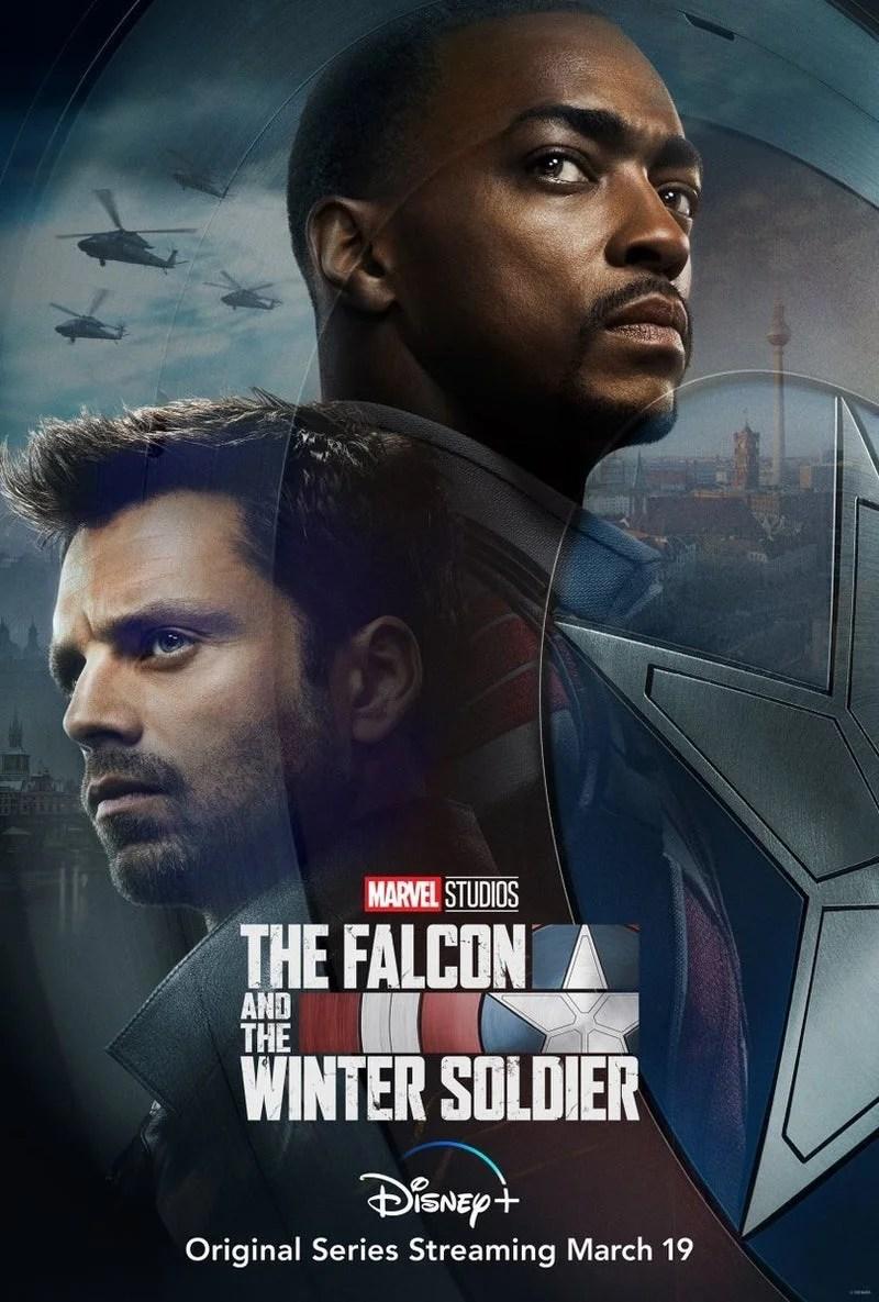 Captain America 2 Le Soldat De L'hiver Streaming : captain, america, soldat, l'hiver, streaming, Falcon, Winter, Soldier, Disney, Release, Revealed