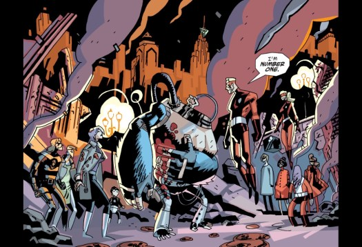 The Sparrow Academy from the comics.