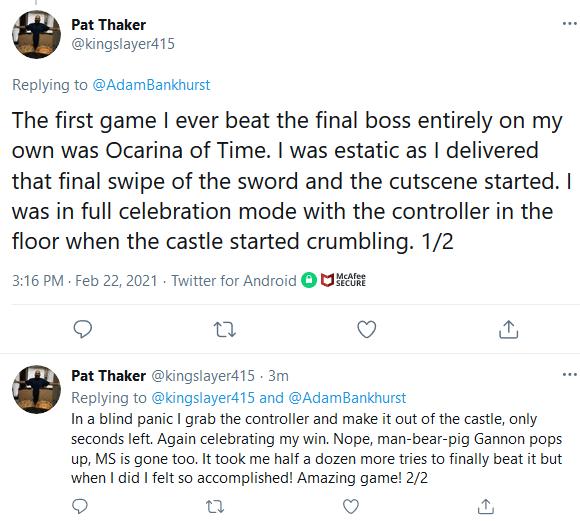 Screenshot_2021-02-22-Pat-Thaker-on-Twitter It Felt Like Everyone Celebrated Zelda's 35th Anniversary Except Nintendo   IGN