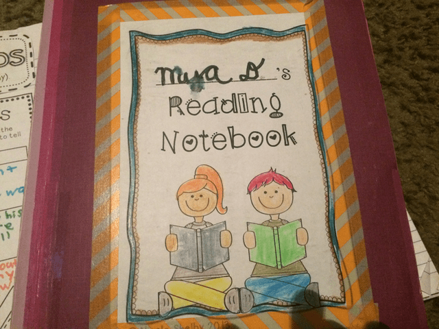 ELA Interactive Notebooks: Reading