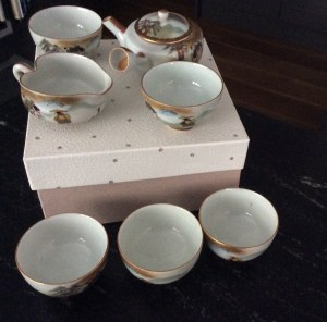 100 year old tea set