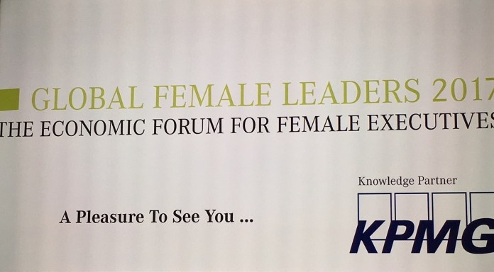 Female Leaders Forum poster