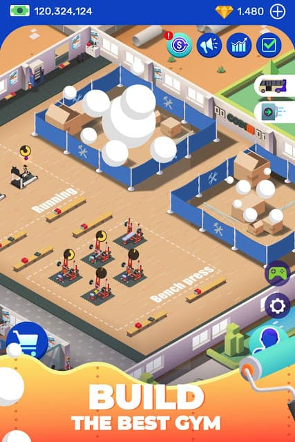Idle Fitness Gym Tycoon V1 5 4 Mod Unlimited Money Apk