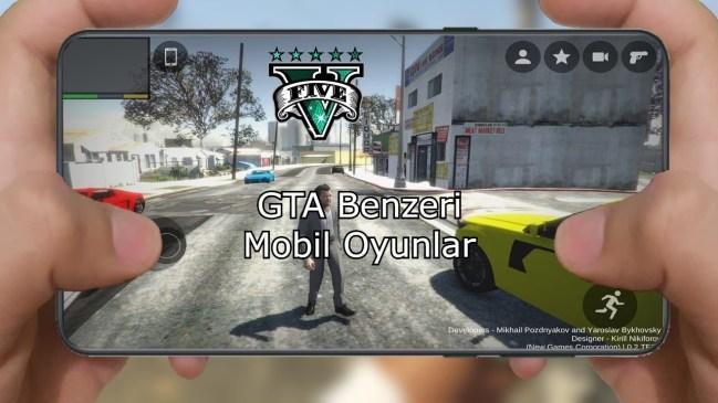GTA Benzeri Mobil Oyunlar