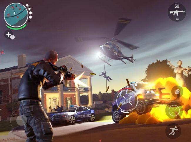 gangstar new orleans aksiyon oyunu