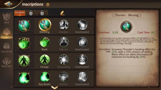 Era of Legends MMORPG mobil oyun