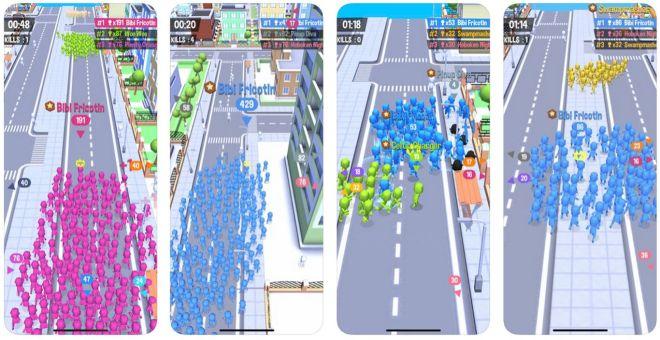 crowd city mobil arcade oyunu tanıtım yazısı indirme linkleri ücretsiz oyna