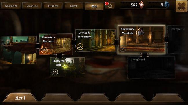 Grimvalor mobil aksiyon oyunu incelemesi