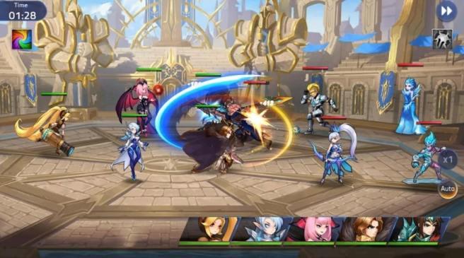 mobile legends adventure mobil sıra tabanlı rol oyunu