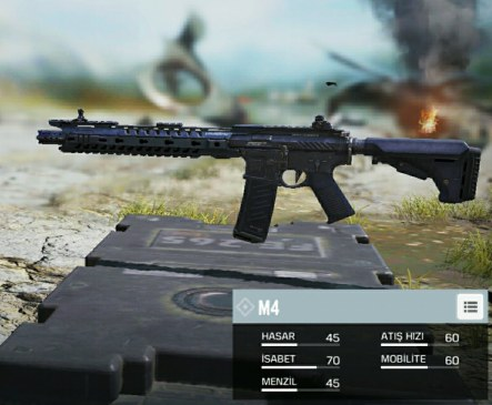 Call of Duty Mobile M4 Silahı