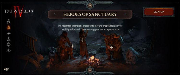 Diablo 4 Sınıflar Görseli