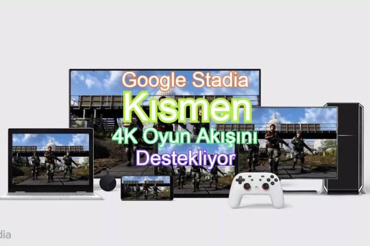 google stadia 4k desteği