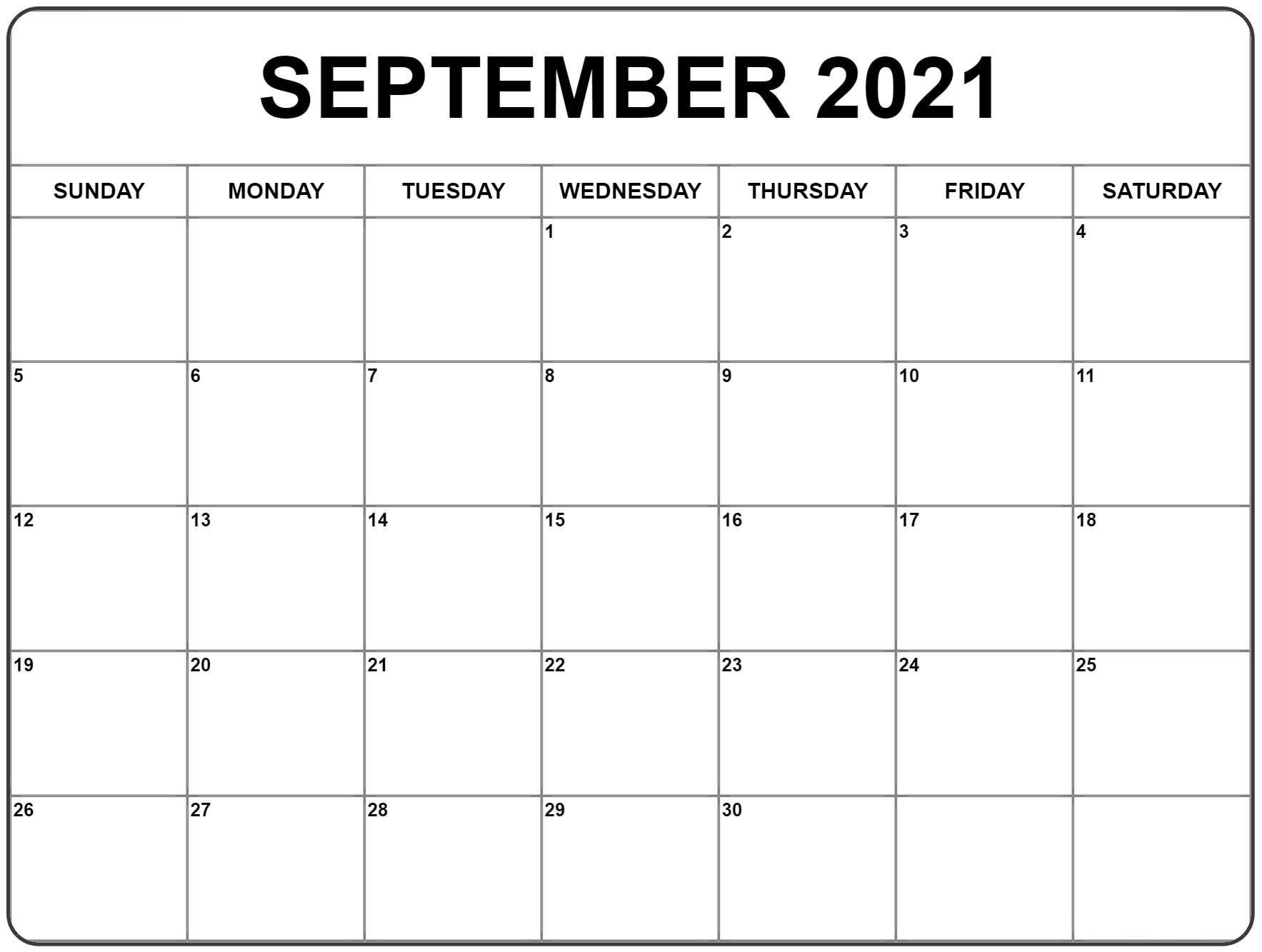 Download free printable 2021 blank monthly calendar and customize template as you like. Monthly Calendar 2021 Printable Large   Calendar Template ...