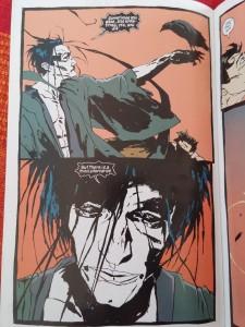"Pagina 8 din ""The Sandman"", volumul 6, ""Fables & Reflections"", DC Comics, Vertigo, 2012."