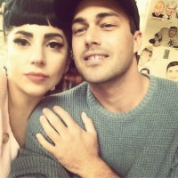 What Illuminati? Lady Gaga Attends Church with Boyfriend (Photo)