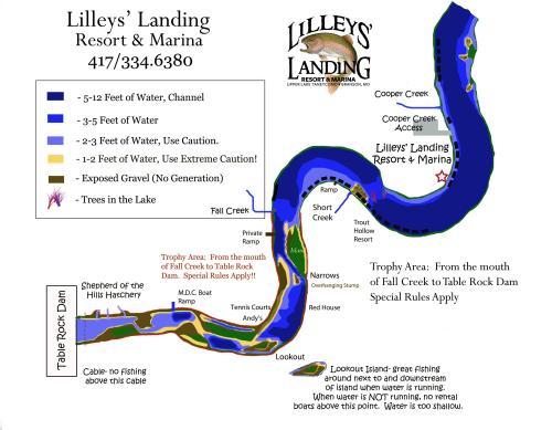 small resolution of taneycomo lake map jpg