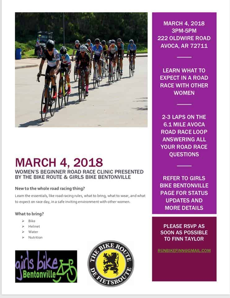 Tuesday Shorts 2/27 - Ozark Cycling Adventures, Cycling news and Routes in Northwest Arkansas NWA