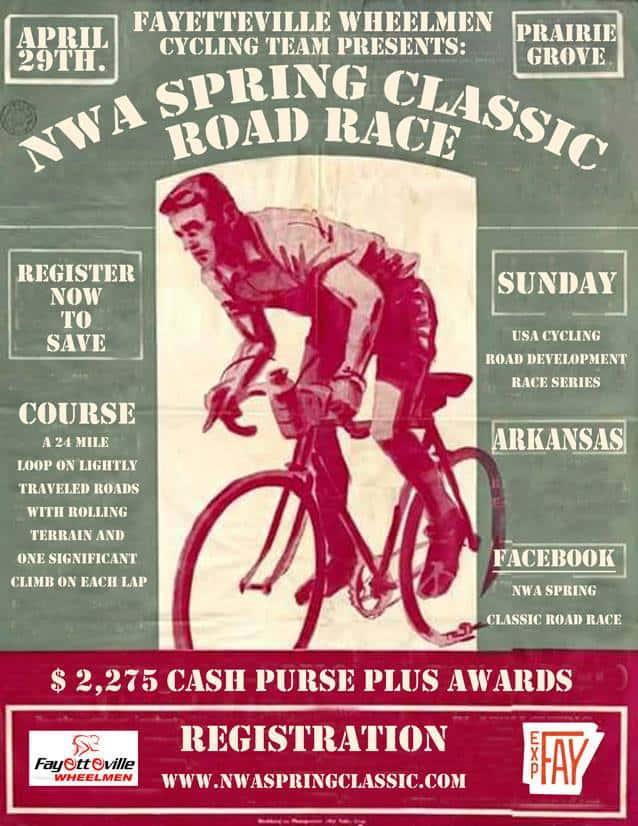 Weekend Ride Notification 4/27 - Ozark Cycling Adventures, Cycling news and Routes in Northwest Arkansas NWA