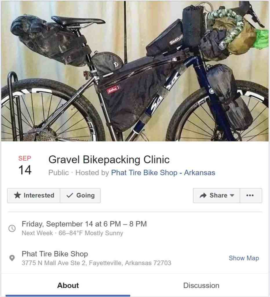 Weekend Ride Notification 9/14 | NWA Cycling News - Ozark Cycling Adventures, Cycling news and Routes in Northwest Arkansas NWA