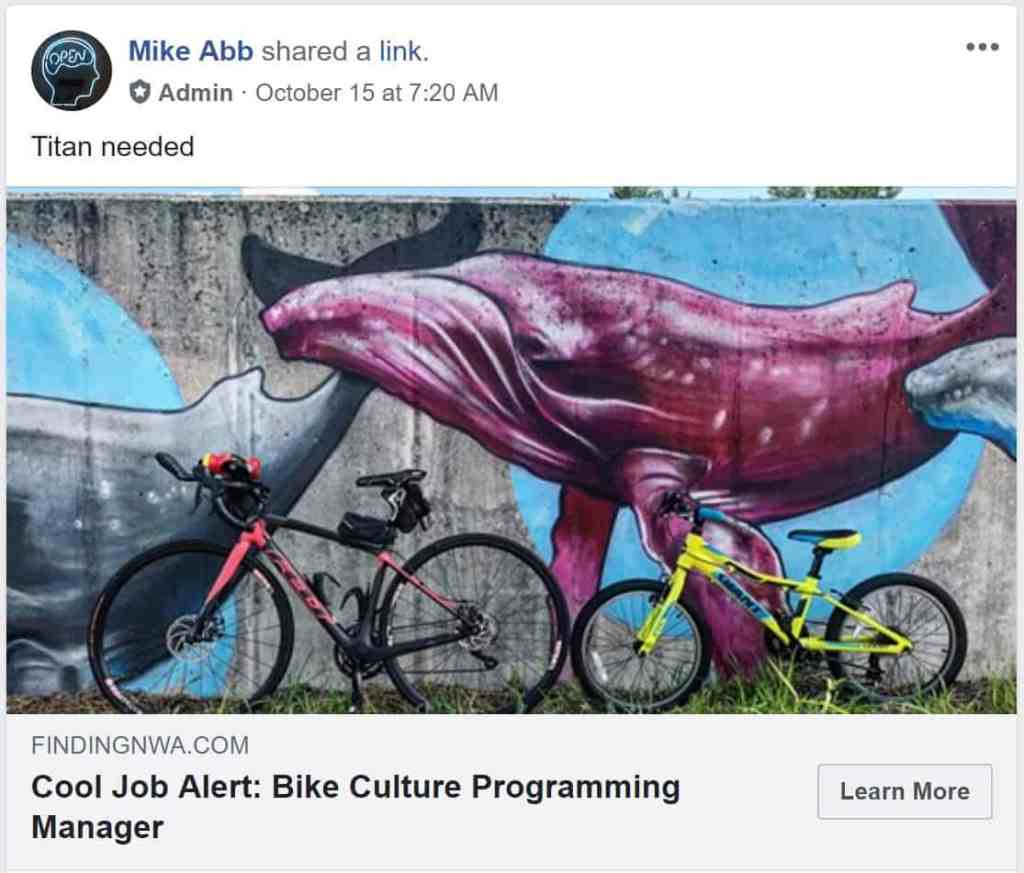 Weekend Ride Notification 10/19 | NWA Cycling News - Ozark Cycling Adventures, Cycling news and Routes in Northwest Arkansas NWA