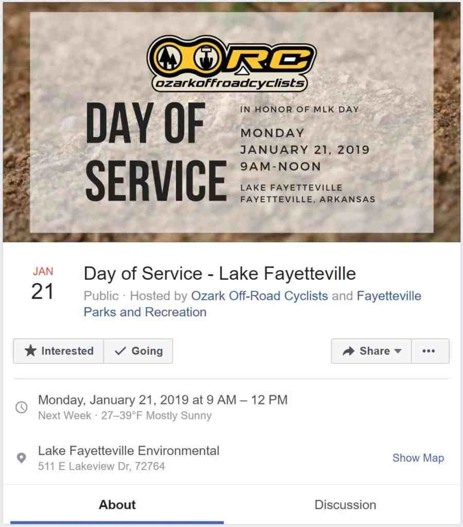 Weekend Ride Notification 1/18 | NWA Cycling News - Ozark Cycling Adventures, Cycling news and Routes in Northwest Arkansas NWA
