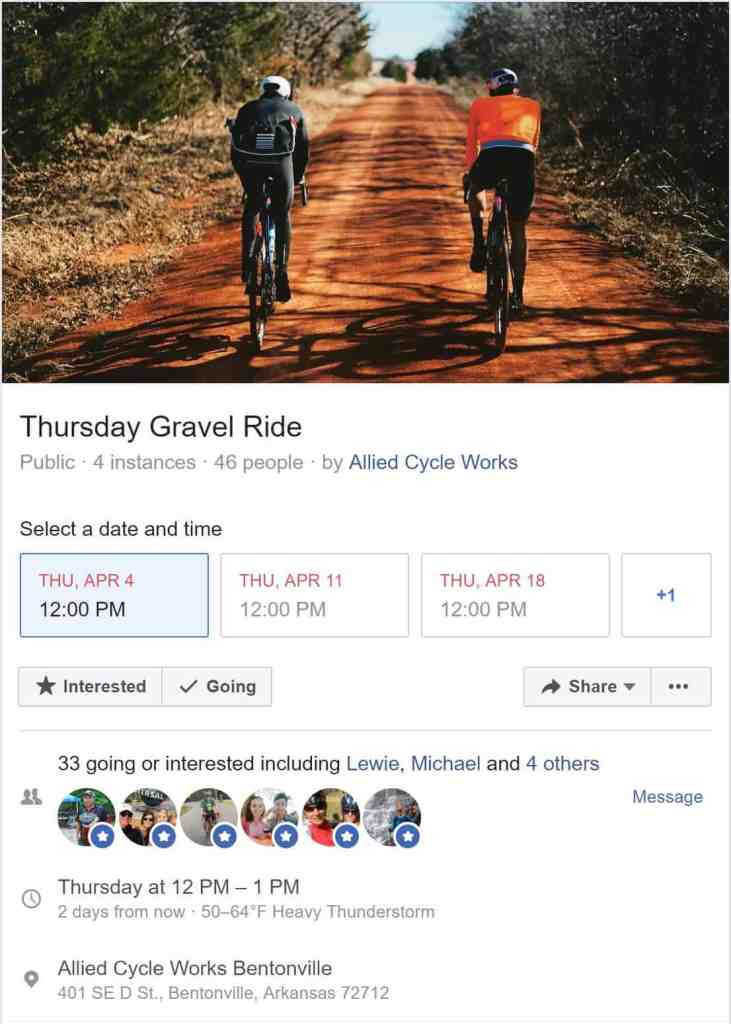 Tuesday Shorts 4/16 | NWA Cycling News - Ozark Cycling Adventures, Cycling news and Routes in Northwest Arkansas NWA