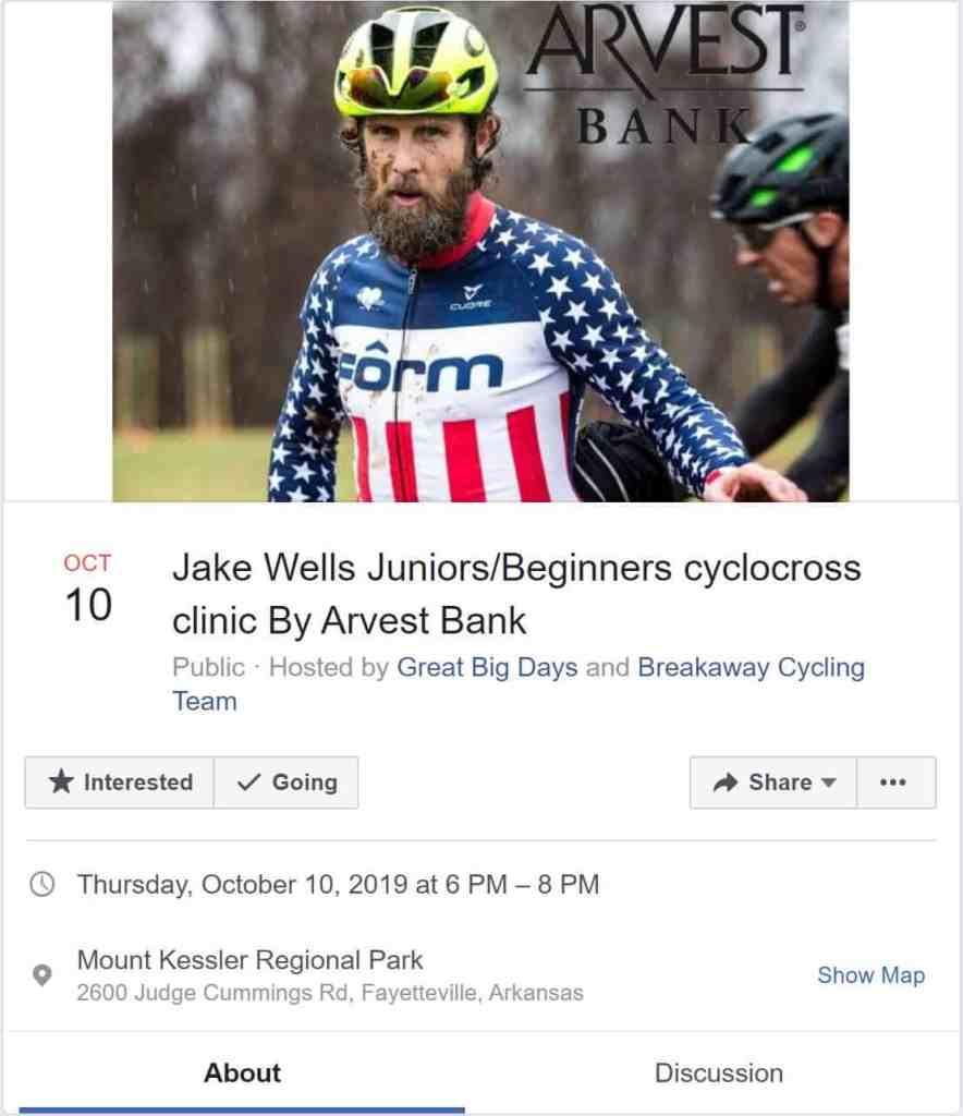 Weekend Ride Notification 10/11 | NWA Cycling News - Ozark Cycling Adventures, Cycling news and Routes in Northwest Arkansas NWA