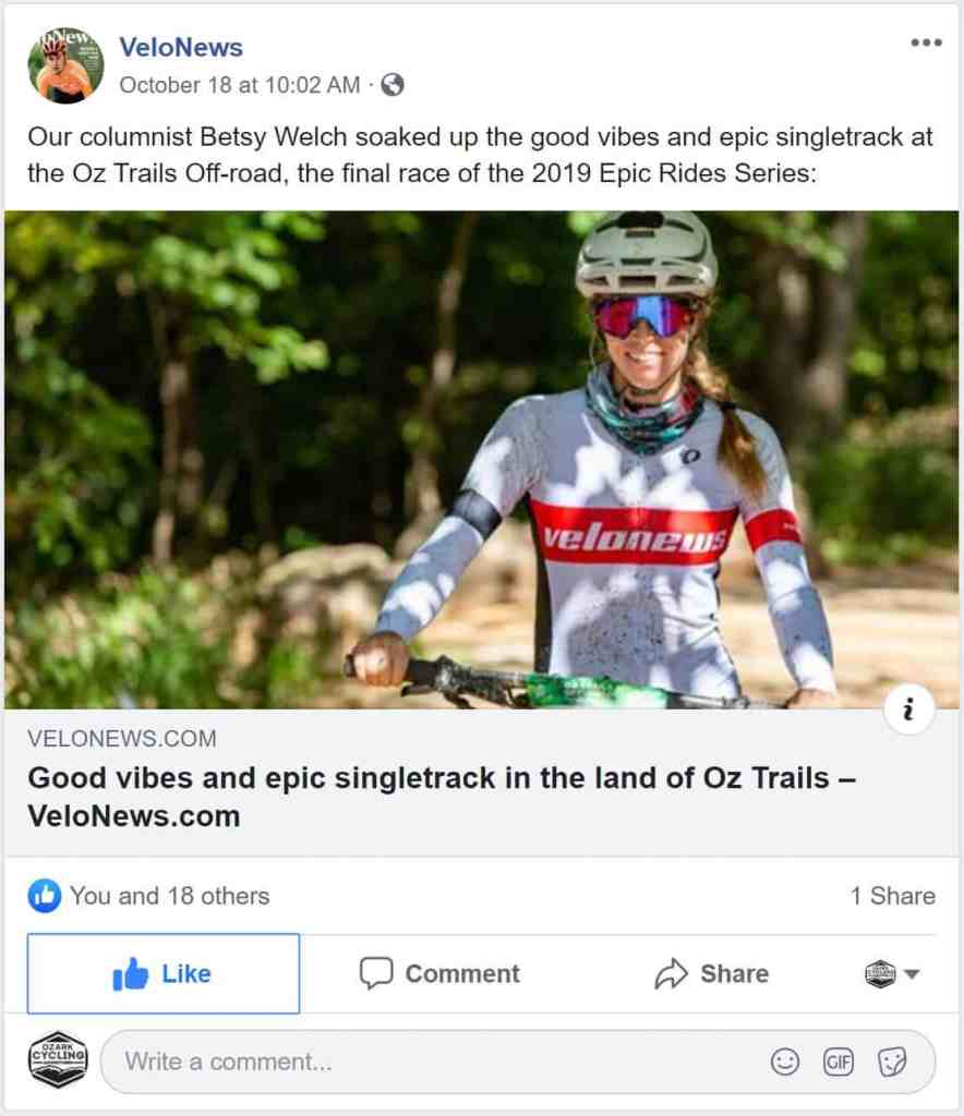 Tuesday Shorts 10/22 | NWA Cycling News - Ozark Cycling Adventures, Cycling news and Routes in Northwest Arkansas NWA