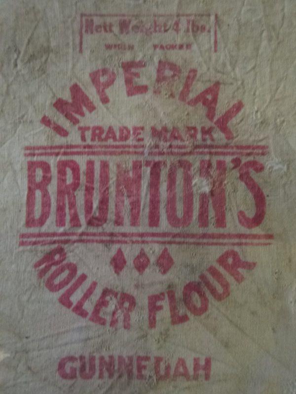 Gunnedah Bruntons Flour Mill Sack