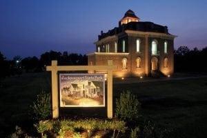 Jacksonport Courthouse Night