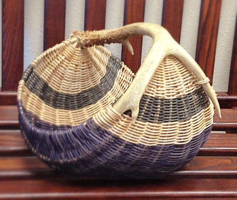 Introduction to Basket Weaving at Arkansas Craft School August and November 2018