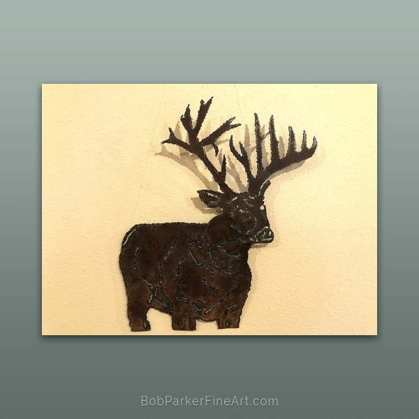 Ozarks Art Gallery | Original Metal Art by Bob Parker Metal Art Design -1870